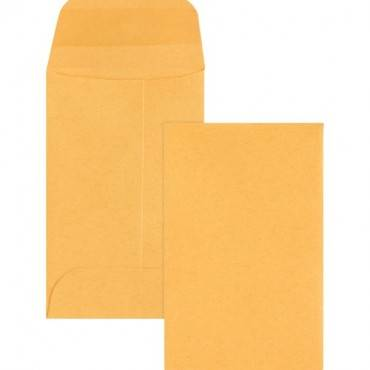 Business Source Small Coin Kraft Envelopes (BX/BOX)