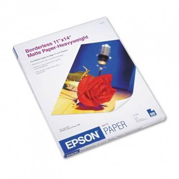 Premium Matte Presentation Paper, 9 Mil, 11 X 14, Matte Bright White, 50/pack