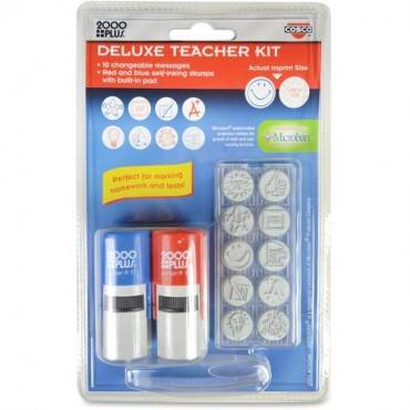 Consolidated Stamp Message Stamp Deluxe Teacher Kit (EA/EACH)