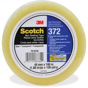 Scotch Box-Sealing Tape 372 (CA/CASE)