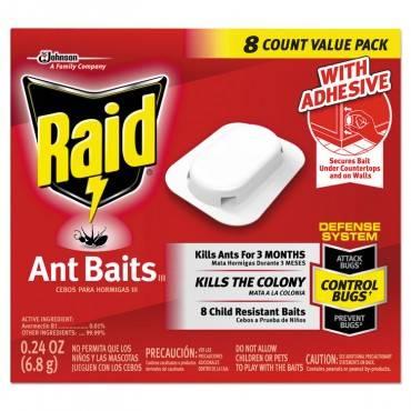 Raid  ANT BAITS, 0.24 OZ, BOX, 96/EA in CARTON 674796 96 Case