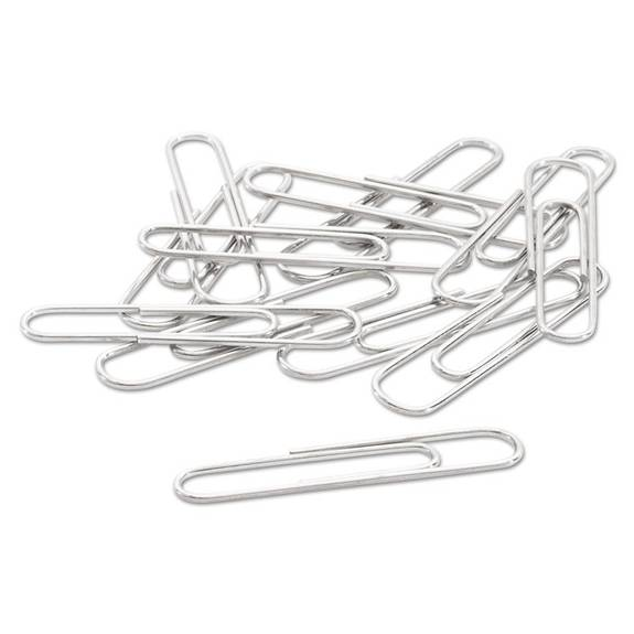 acco paper clips  small  no  1   silver  1000  pack a7072380g 1000 package