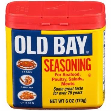 Old Bay Seasoning - Original - Case of 8 - 6 oz