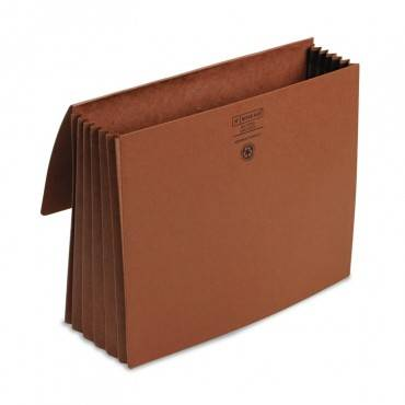 """Redrope Expanding Wallets, 5.25"""" Expansion, 1 Section, Letter Size, Redrope"""