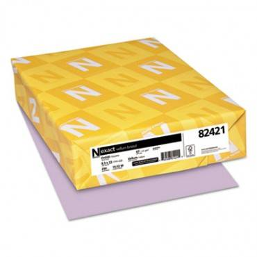 Exact Vellum Bristol Cover Stock, 67lb, 8.5 X 11, 250/pack
