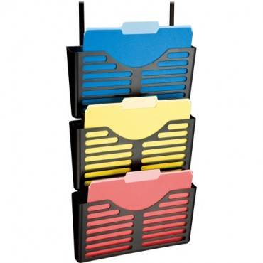 Lorell Plastic Hanging Triple Pocket File Set (EA/EACH)
