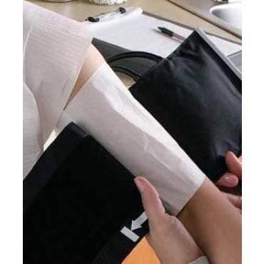Blood Pressure Cuff Barrier Fabricel* Tissue Fused With Leak Proof Polyethylene Film / 18-1/8 X 6-3/4 Inch, Adult Regular(50/BX)