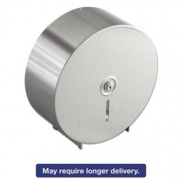 Jumbo Toilet Tissue Dispenser, Stainless Steel, 10.625w X 10.625h X 4.5d