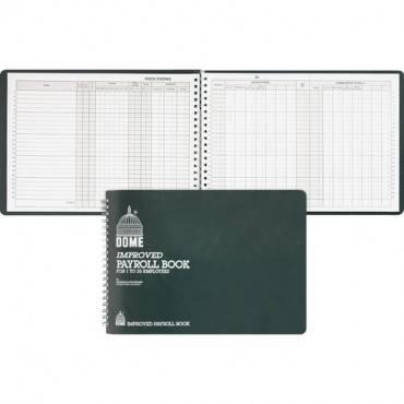 Dome Wirebound Payroll Book (EA/EACH)