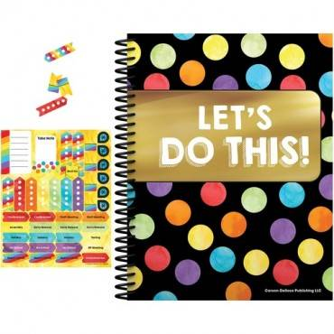 Carson-Dellosa Celebrate Learning Planner/Accent Set (ST/SET)