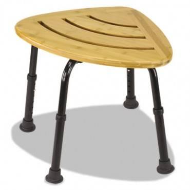 "Bamboo Bath Seat, Woodgrain, 16"" X 22 X 13 1/2-18 (1/EA)"