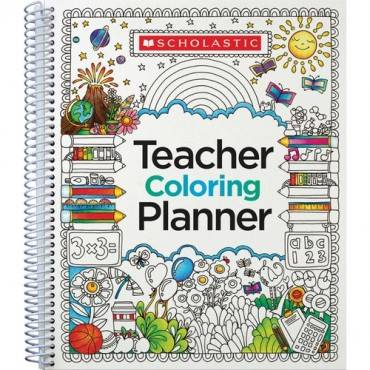 Scholastic Doodle Weekly/Monthly Teaching Planner (EA/EACH)