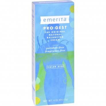Emerita Pro-gest Cream - 4 Oz