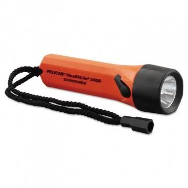 Pelican  Stealthlite Flashlight, Abs Body, 10000 Candle Power, Orange