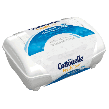 Cottonelle Fresh Flushable Moist Wipes Tub (1/Each)