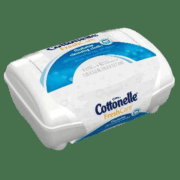 Cottonelle Fresh Flushable Moist Wipes Tub Part No. 36734 (8/case)
