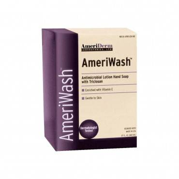 Ameriwash Antimicrobial Lotion Soap With Triclosan, 800 Ml Part No. 200 (1/ea)
