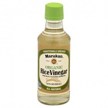 Marukan Organic Rice Vinegar - Case of 6 - 12 Fl oz.