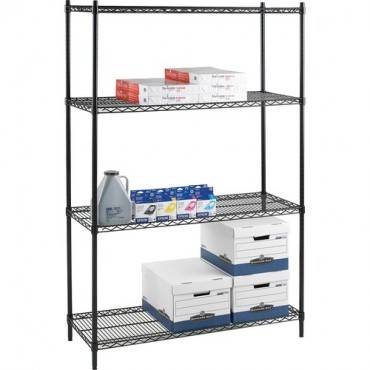 Lorell Industrial Adjustable Wire Shelving Starter Unit (EA/EACH)