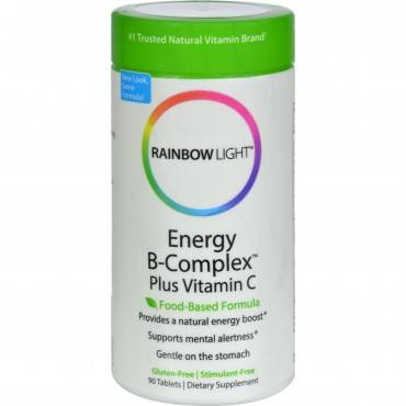 Rainbow Light Energy B-Complex - 90 Tablets