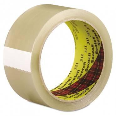 Scotch 311 Box Sealing Tape, Clear, 48mm X 100m, 1/Roll