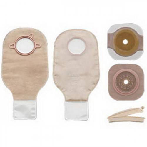 "New Image Two-piece Drainable Colostomy/Ileostomy Kit 1-3/4"" Part No. 19103 Qty  Per Box"