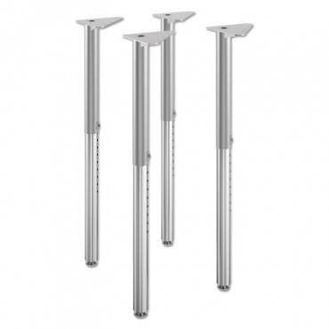 "BUILD ADJUSTABLE POST LEGS, 22"" TO 34"" HIGH, 4/PACK"