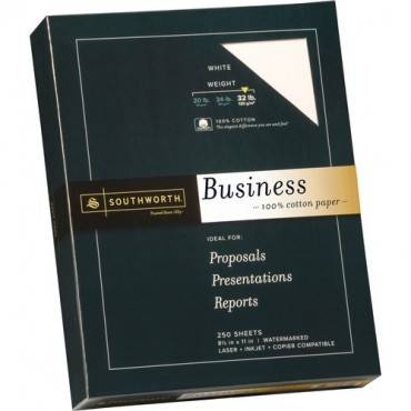 Southworth Premium Weight 100% Business Cotton Paper (BX/BOX)