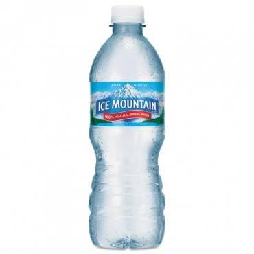 Ice Mountain  Natural Spring Water, 16.9 Oz Bottle, 40 Bottles/Carton