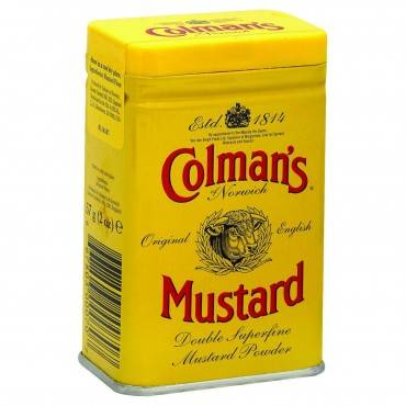 Colmans Dry Mustard Powder - 2 Oz - Case Of 12
