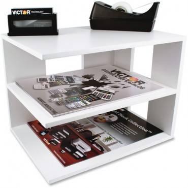 Victor W1120 Pure White Corner Shelf (EA/EACH)