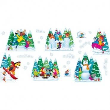 Trend Wonderful Winter Bulletin Board Set (ST/SET)