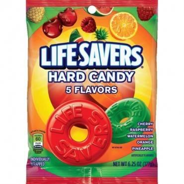 Wrigley LifeSavers 5 Flavors Hard Candies (PK/PACKAGE)