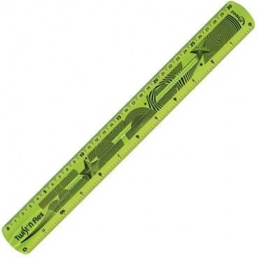 "Helix Twist-n-Flex 12"" Ruler (EA/EACH)"