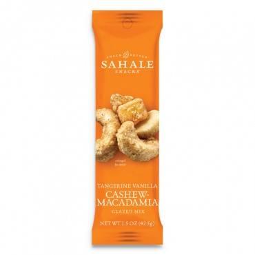 Sahale Snacks  GLAZED MIXES, TANGERINE VANILLA, 1.5 OZ POUCH, 18/CARTON 900015 1 Case