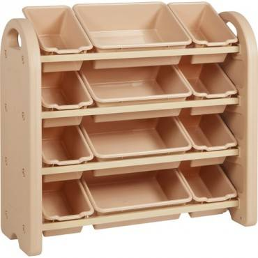 Early Childhood Resources Storage Bins 4-tier Organizer (EA/EACH)