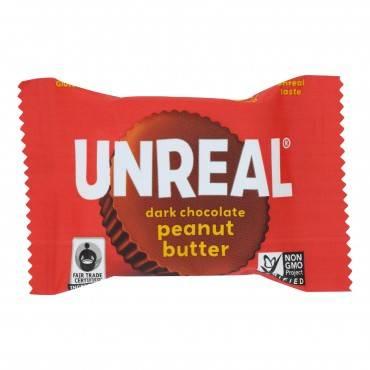 Unreal Dark Chocolate Peanut Butter Cups - 40 Cups