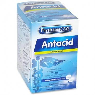 PhysiciansCare Antacid Medication Tablets (BX/BOX)