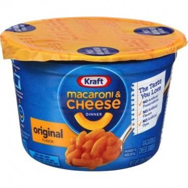 Kraft EasyMac Cups (CA/CASE)