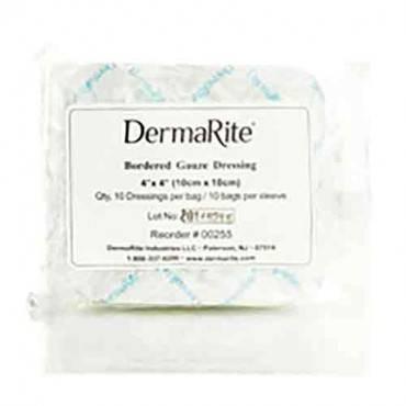 DERMARITE INDUSTRIES DermaRite Bordered Gauze (pack of 100)