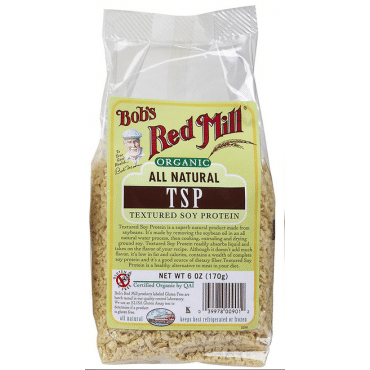 Bob's Red Mill Organic Textured Soy Protein (TSP) - 6 oz - Case of 4