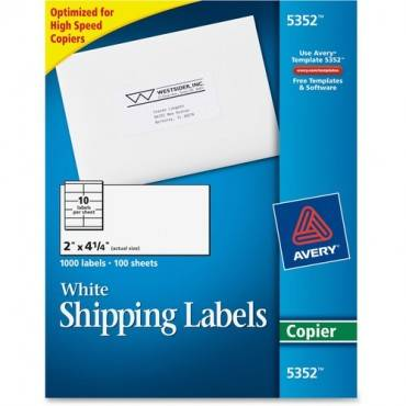 Avery® Mailing Labels for Copiers (BX/BOX)