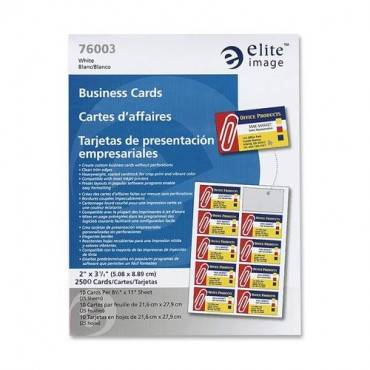 Elite Image Laser Print Business Card (BX/BOX)