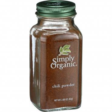 Simply Organic Chili Powder - Organic - 2.89 Oz