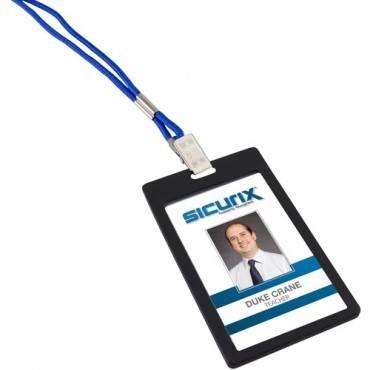 SICURIX Badge Holder - Vertical (PK/PACKAGE)