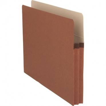 Business Source Redrope Letter Expanding File Pockets (BX/BOX)