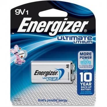 Energizer Ultimate Lithium 9V Battery (PK/PACKAGE)