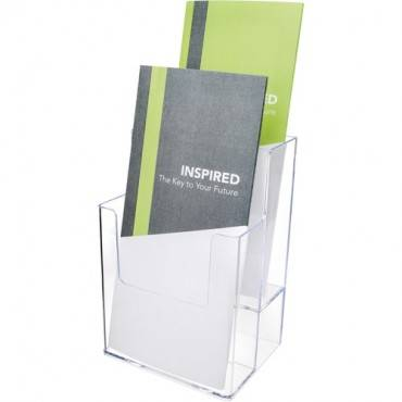 Deflecto Multi-Compartment DocuHolder - Extra-Deep Leaflet Display (EA/EACH)