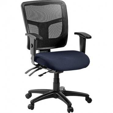 Lorell ErgoMesh Series Managerial Mid-Back Chair (EA/EACH)