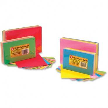 Hygloss Bright Color Blank Note Cards (PK/PACKAGE)